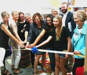 Ribbon Cutting Ceremony, August 28, 2016