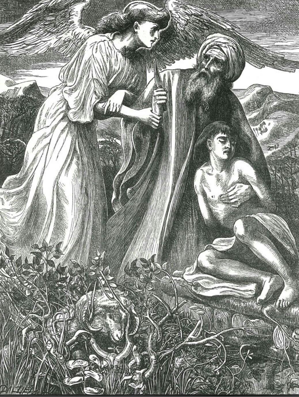The Sacrifice of Isaac (Simeon Solomon)