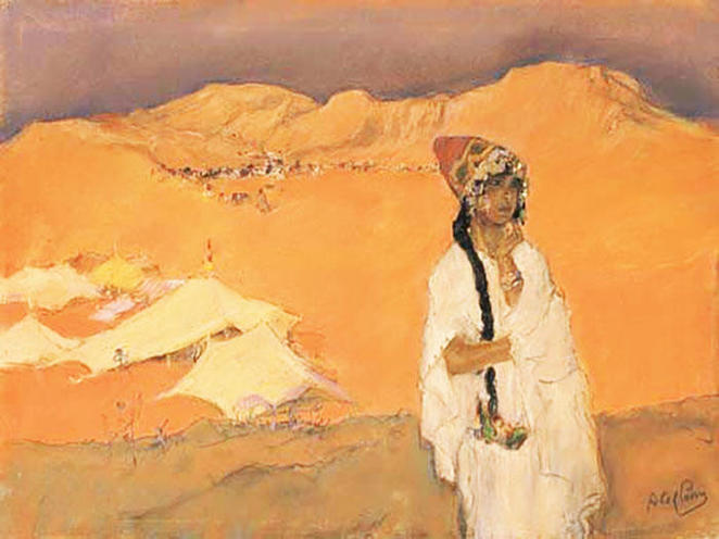 Biblical Figure (Abel Pann)