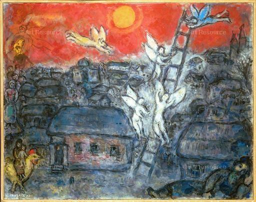 Jacob's Ladder (Marc Chagall)