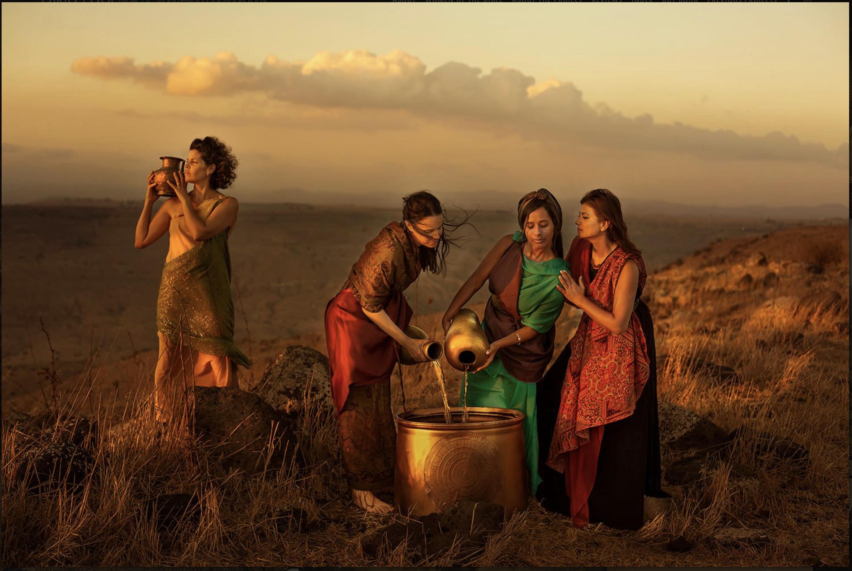 Esau's wives (Dikla Laor)